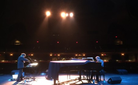 An evening with Laurie Anderson & Philip Glass