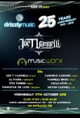 Drizzly Music 25th Anniversary, Music Worx and Joe T. Vannelli