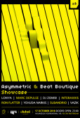 Asymmetric & Beat Boutique Showcase